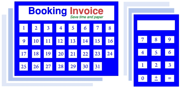 booking invoice