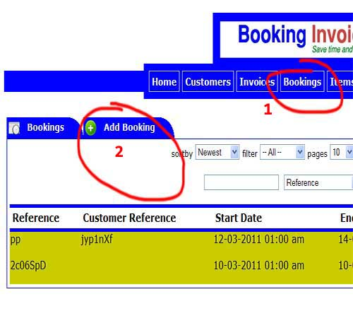 booking add 1